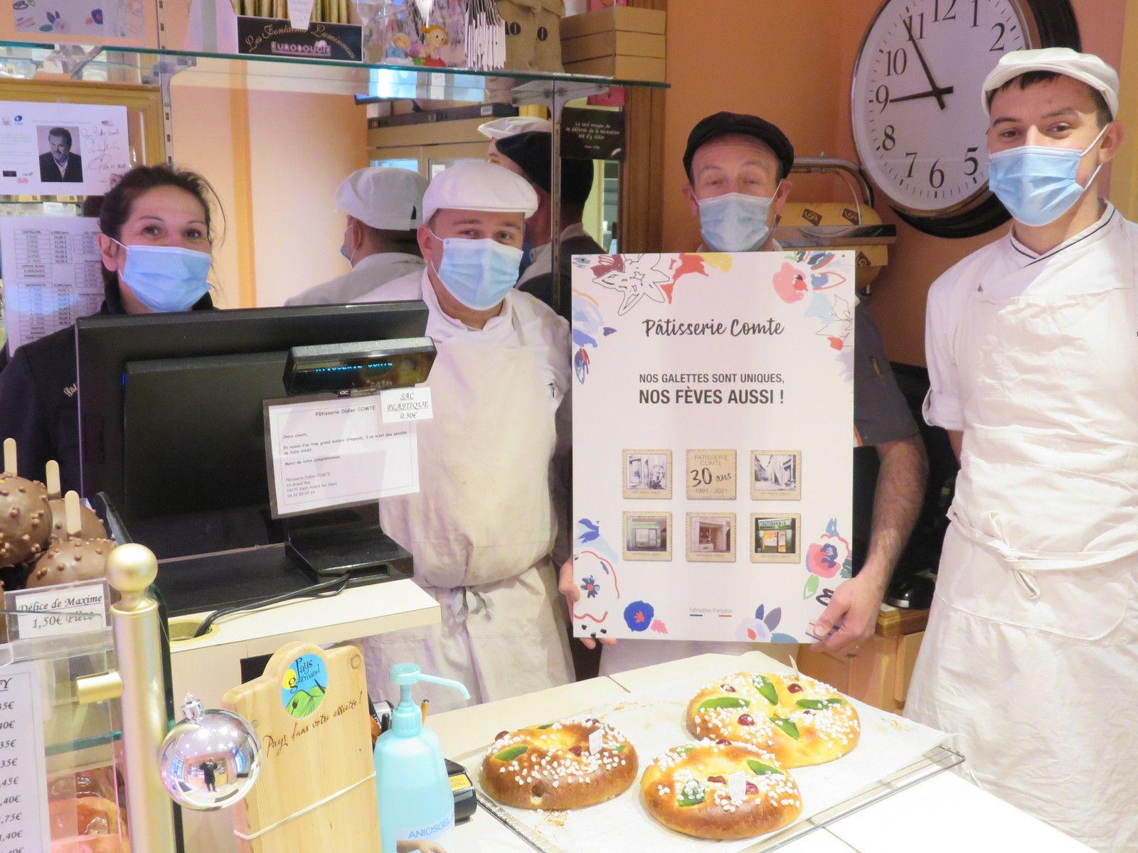 Saint André les Alpes: 30 ans de gourmandise fêtés avec des fèves faites main