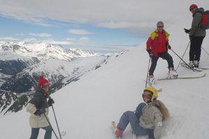 ski sur les glaciers ... ou ce qu'il en reste !