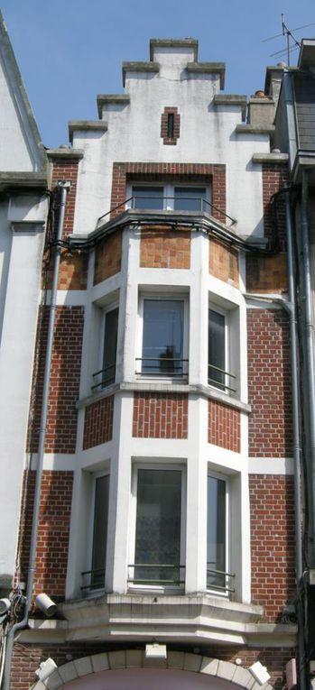 38 rue Saint-Aubert, Denrées fermières. Maurice Mulard, architecte, 1926.