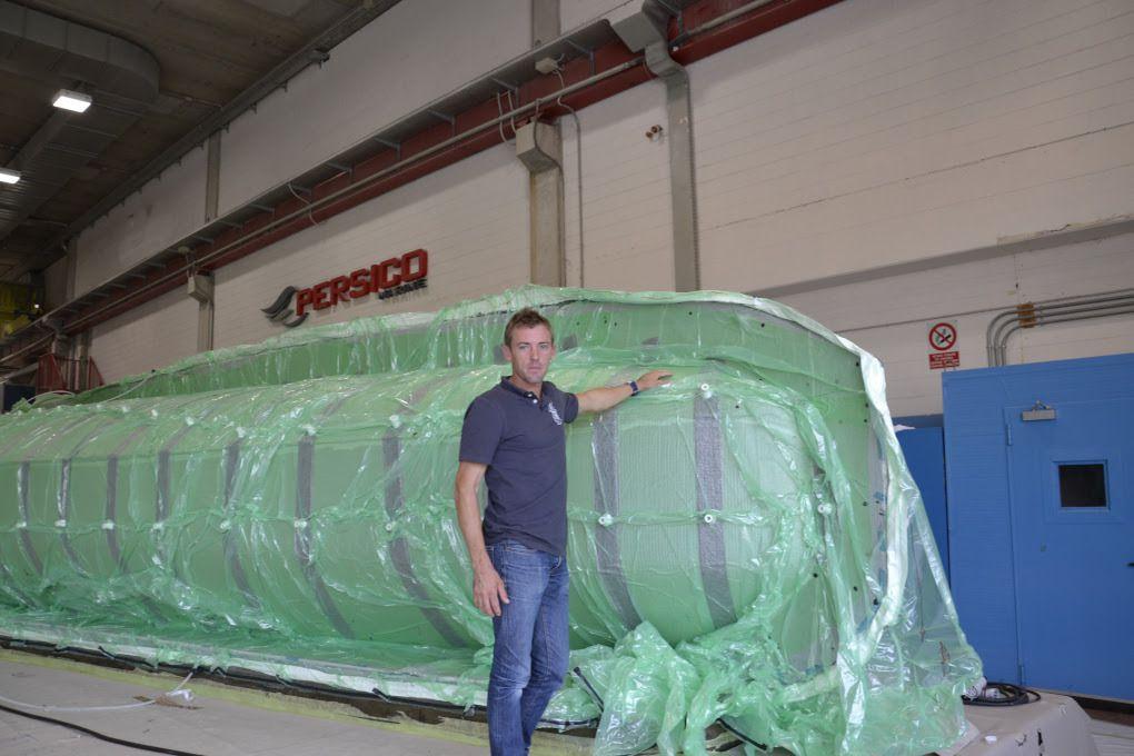 Vendée Globe – Un monocoque 60 pieds Imoca en construction pour Thomas Ruyant