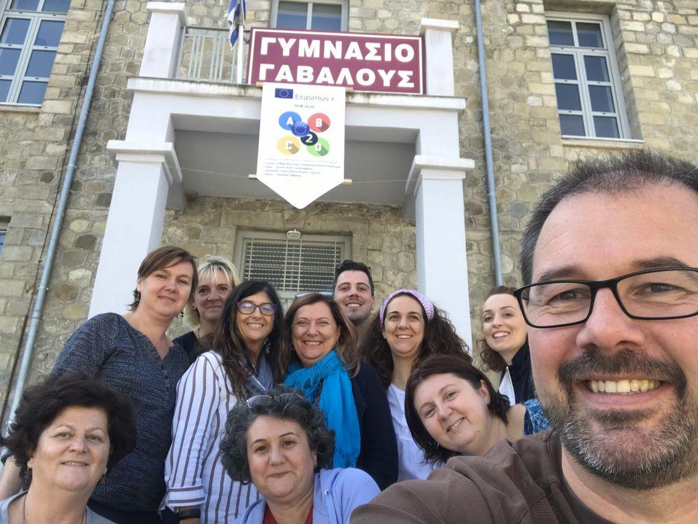 TM 1ere rencontre à Gavalou GRECE