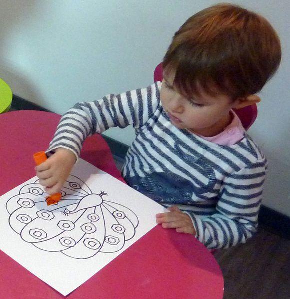 Premier pas dans l'art - Atelier pour les touts petits