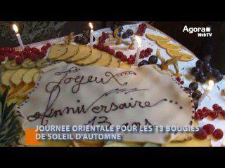 JOURNEE ORIENTALE POUR LES 13 BOUGIES DE SOLEIL D'AUTOMNE