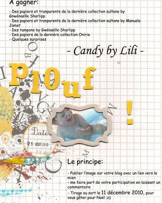 Blog candy chez lili