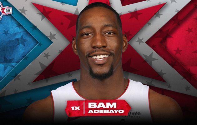 Bam Adebayo rejoint Antetokounmpo, Siakam et Embiid au All-Star Game 2020 !