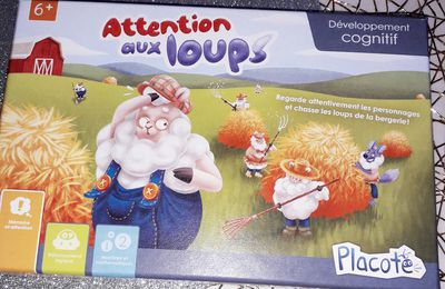 Attention aux Loups le jeu de société trois en un de Placote
