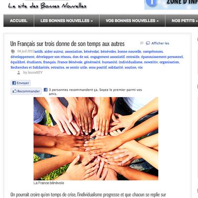 La France bénévole/ Newzitiv