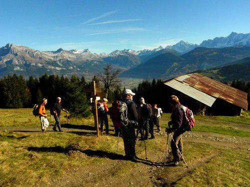 Haut de Combloux, Croix des Salles, Haute Savoie 05.11.10
