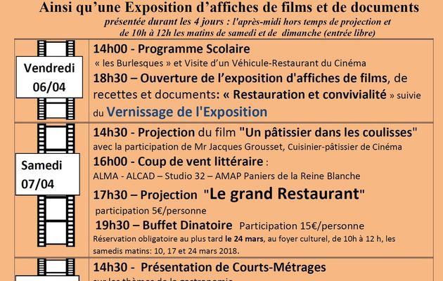 Participation au Festival du Cinéma à Lamorlaye