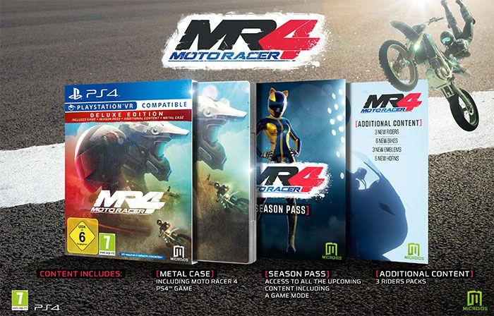 Jeux video: Découvrez le contenu de l'édition Deluxe de Moto Racer 4 !