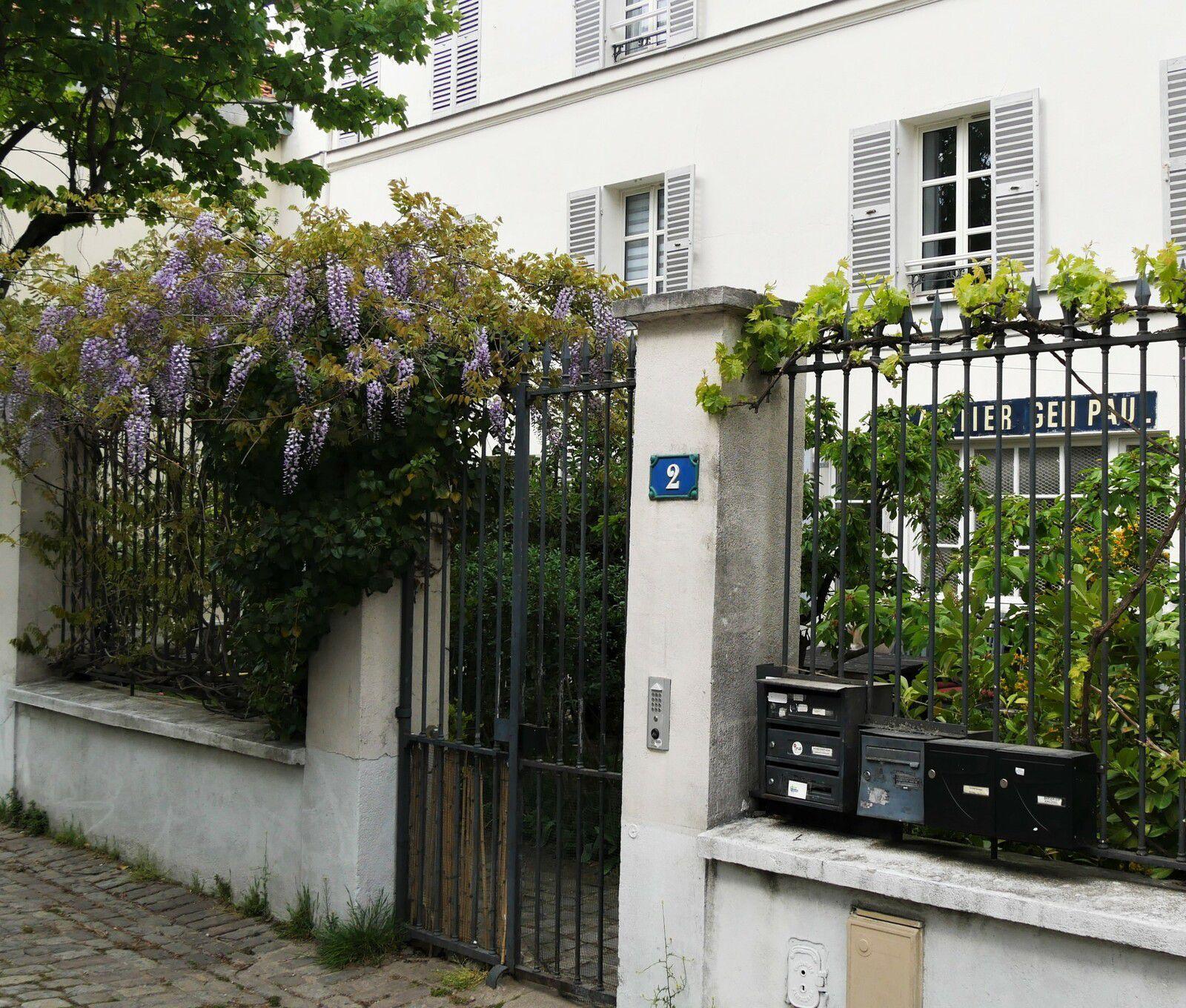 Impasse Girardon. Montmartre.