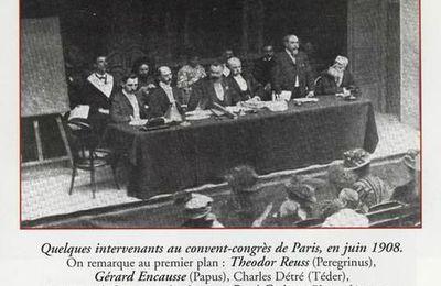 René Guénon et son cordon de haut grade en 1908. Guénon franc-maçon : des éléments réels et vérifiés.