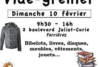 10 FEVRIER : VIDE-GRENIER DE L'AUMONERIE DE MARTIGUES