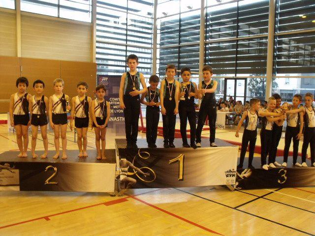 Les jeunes gymnastes du CMOV Gymnastique ont fait forte impression - Photos : © CMOV Gym