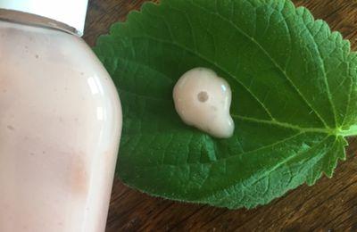 Sérum rose  pour visage fatigué aux stévia, ciste ladanifère et kudzu