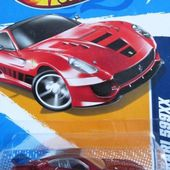 FERRARI 599 XX HOT WHEELS 1/64 - F599XX - car-collector.net