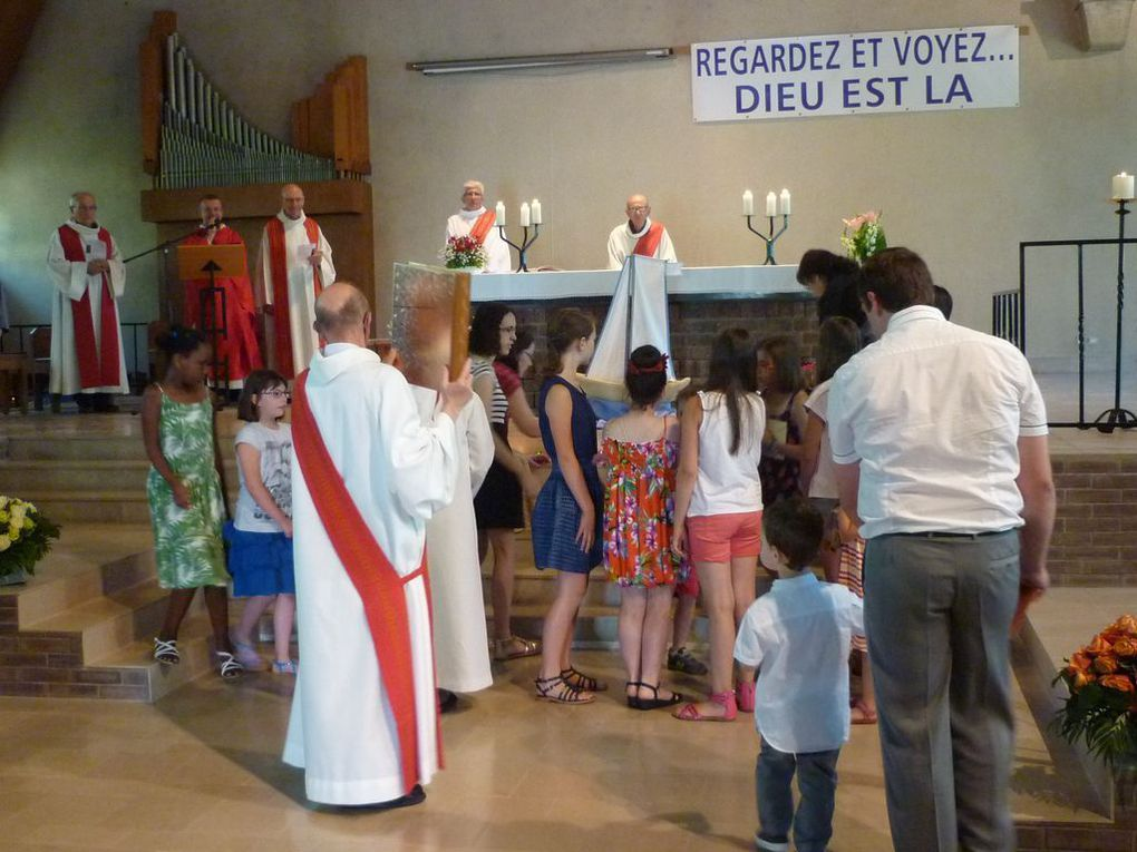 Interview de l'abbé Jean-Marie et photos de la messe d'action de grâce