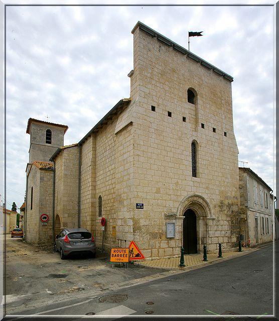 Diaporama église fortifiée L'Isle d'Espagnac