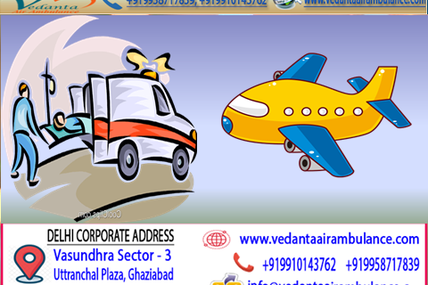 Helping Hand by Vedanta Air Ambulance Service for your Loved Ones
