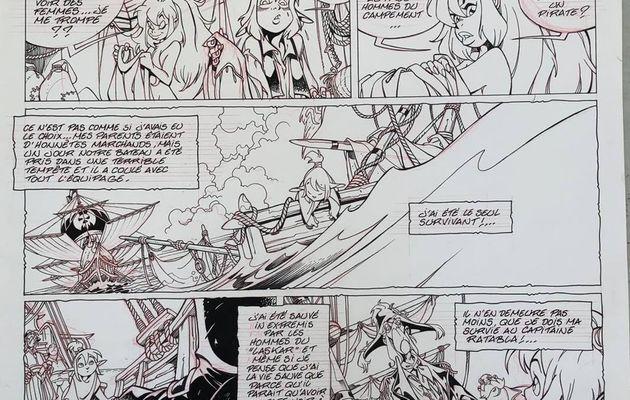 [IDL N°372] : Ténébris se liera d'affection avec un elfe, nommé Sparo, dans son tome Les Légendaires - Stories !