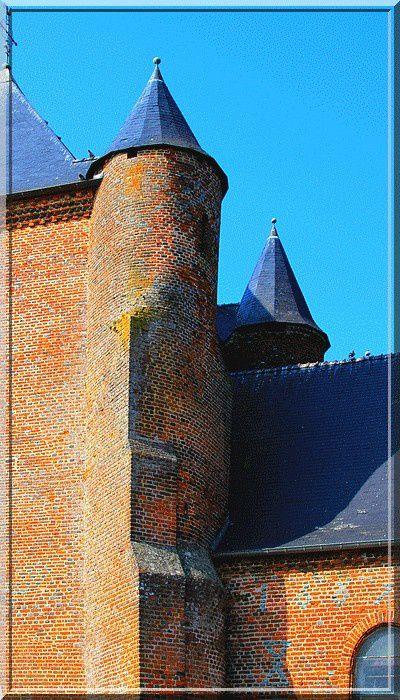 Diaporama église fortifiée de Saint Algis