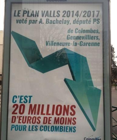 Polémique à Colombes : le maire et député au tribunal à propos d'une affiche