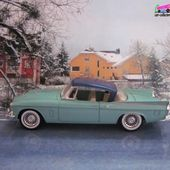 STUDEBAKER SILVER HAWK HARD TOP 1957 SOLIDO 1/43 - car-collector.net