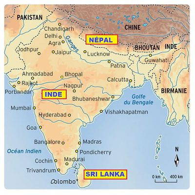 Mes coups de coeur sur le Nord-ouest asiatique (Inde - Népal - Sri Lanka)