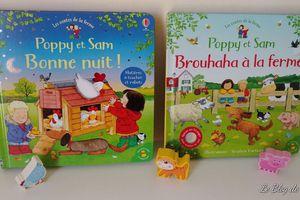 A la découverte de Poppy et Sam à la ferme - Editions Usborne