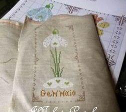 Fiori??  Si, fiori per tutti i mesi ... quelli proposti da Carolina '#CuoreEbatticuore !!!