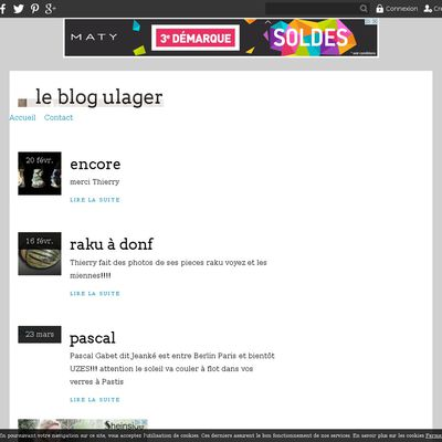 le blog ulager