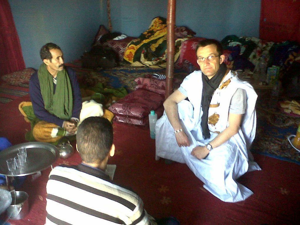 mission humanitaire d'observation dans les camps de réfugiés sahraouis