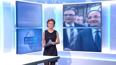 2013 01 05 - CELINE PITELET - BFM TV - WEEK-END PREMIERE @07H00