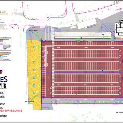 La ville de cannes a lancé l'appel d'offres du stade avec la création du parking.