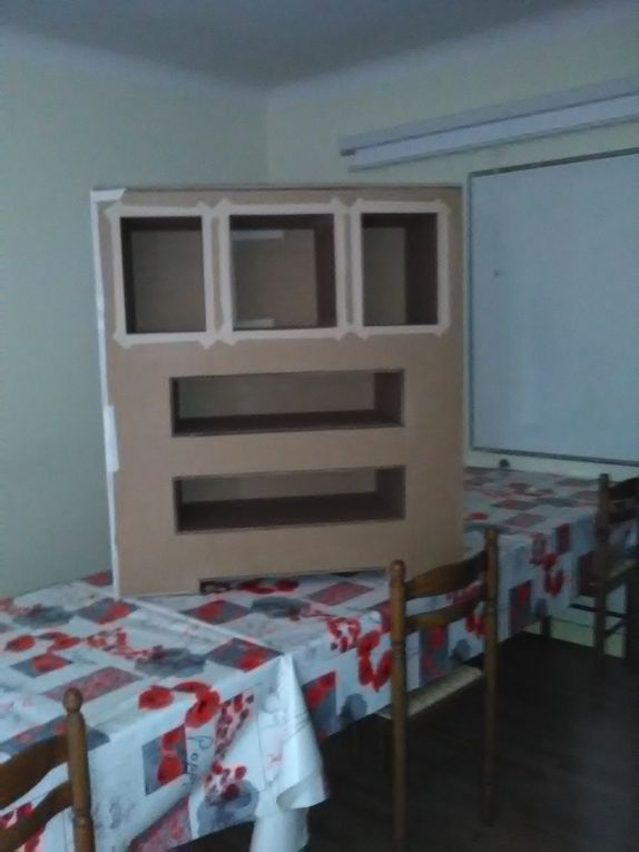 Les meubles en carton...