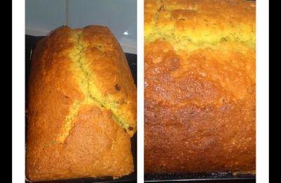 Cake excellent aux pépites de chocolat au thermomix ou sans