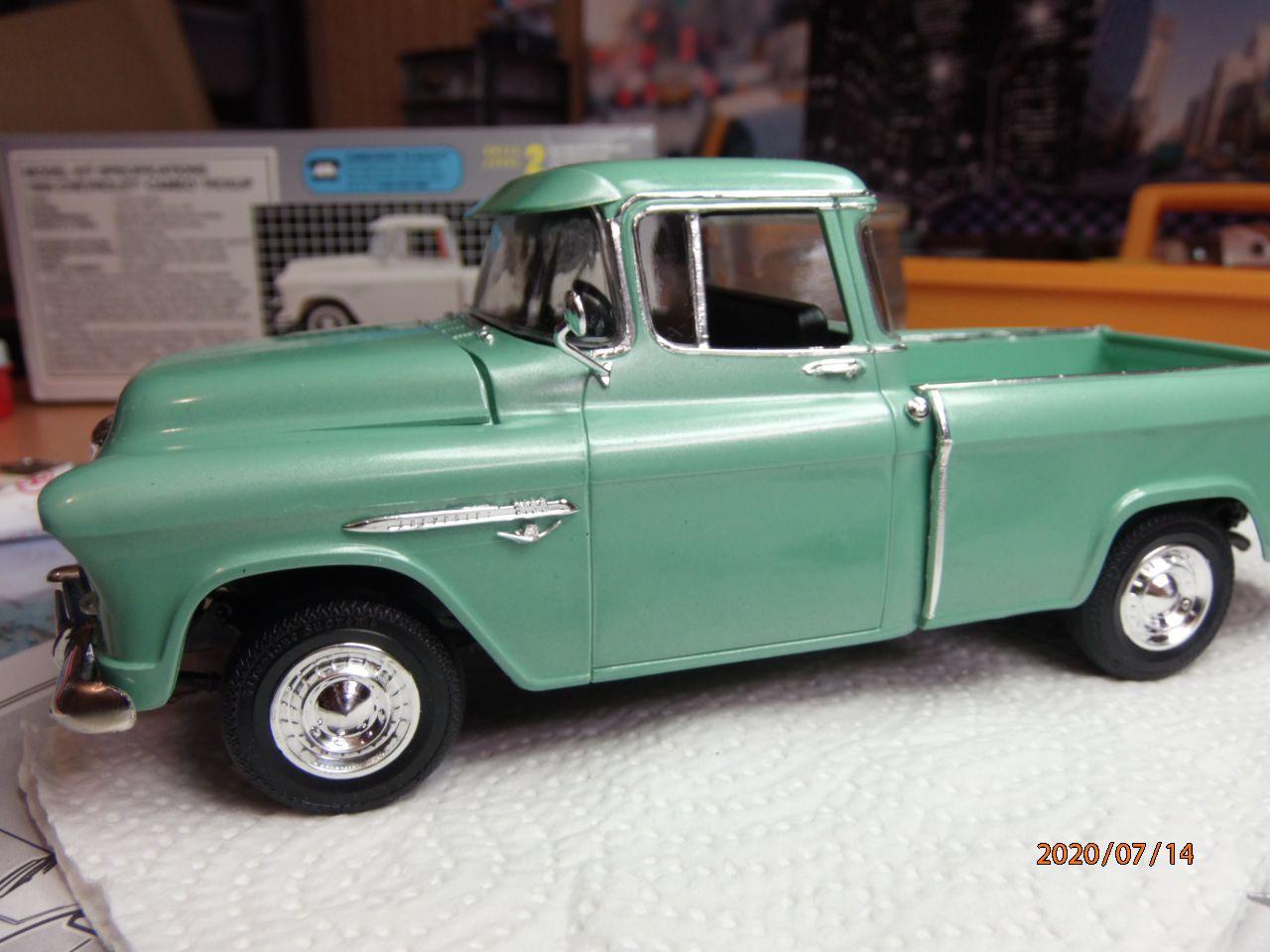 55 Chevrolet cameo   2/2