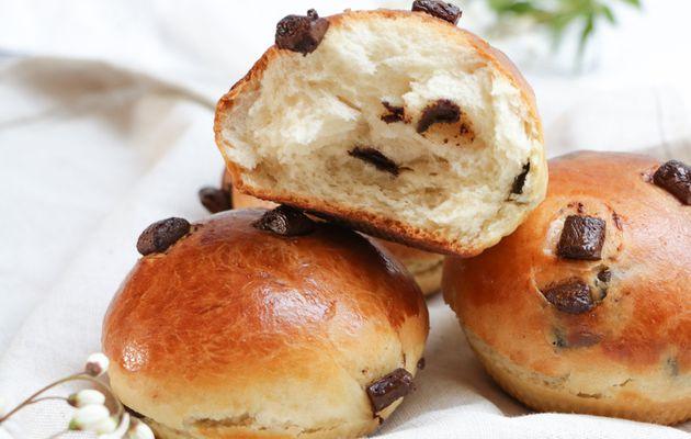 Doowap, briochettes aux pépites de chocolat