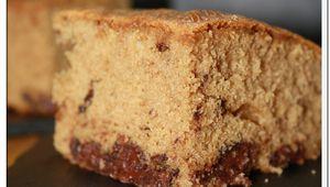 Blondie Café chocolat (brownie)