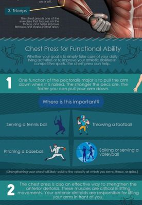 Chest Press - More than just the Favorite Exercise of Young Men