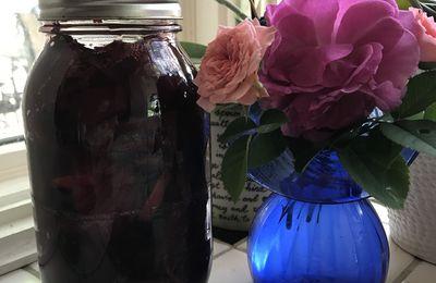 bocaux de bettraves au vinaigre