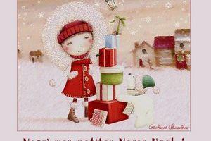 Dans la hotte de mes petites Mères Noël ...