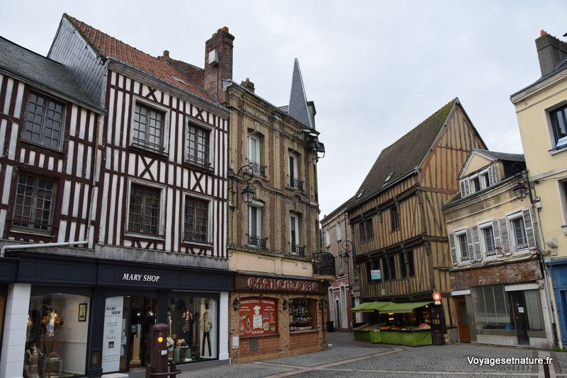 Balade dans Harfleur (76)