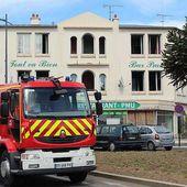 """Saint-Brieuc. Le """"Tout va bien"""", un hôtel-bar désaffecté, prend feu"""