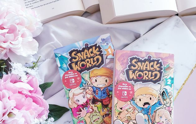 SNACK WORLD T01 & T02 > SHO.T