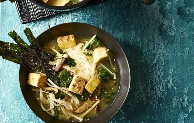 Recette soupe miso japonaise pour perdre du poids