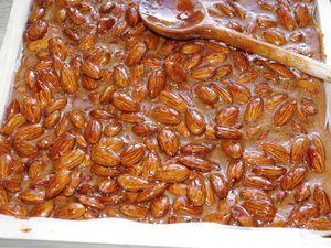 Nougat noir de Provence au miel de lavande