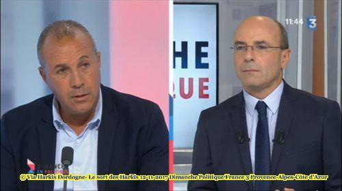 Dimanche en politique en régions : Le sort des Harkis France 3 Provence- Alpes- Côte d'Azur.