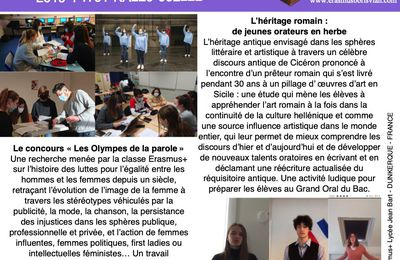 HERITAGE Newsletter n°2 France lycée