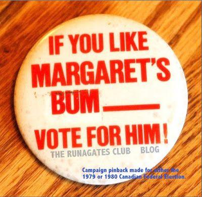 Margaret Trudeau's Bum
